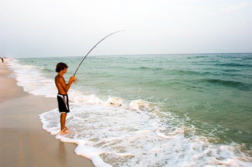 Surf Fishing In South Walton Is Easy
