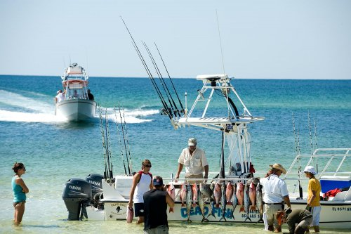 The Grayton Beach Mosquito Fleet Launches Right From In For Convenient And Easy Fishing Just Offs