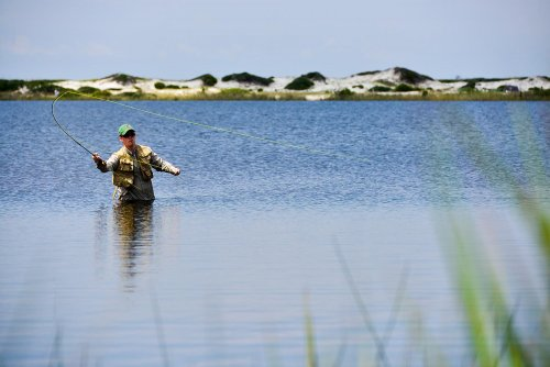 Fly Fishing On Western Lake At Grayton Beach State Park In South Walton