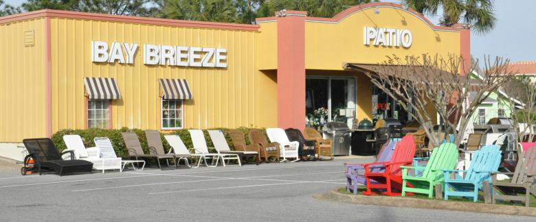 Good The Bay Breeze Patio Showroom Is Open Daily In Miramar Beach, One Mile West  Of Silver Sands Premium Outlets. For More Information About Custom Design  ...