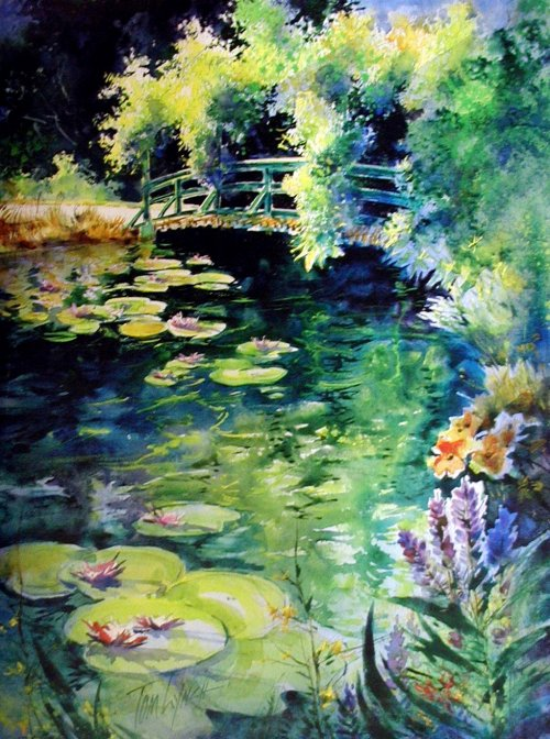 Watercolor workshop with tom lynch at bayou arts center feb 23 26 for Lynch s garden center