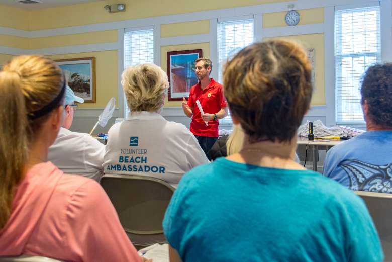 Volunteer Beach Ambassadors Hit the Sand to Educate and