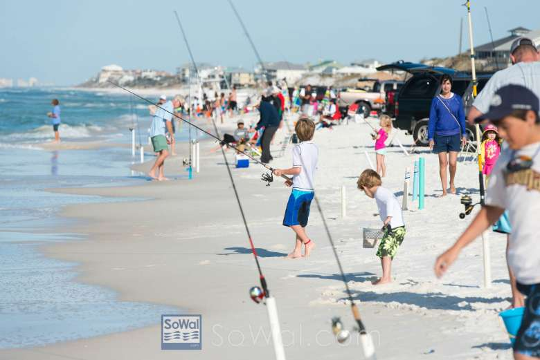 Cca Kid S Fishing Tournament At Grayton Beach