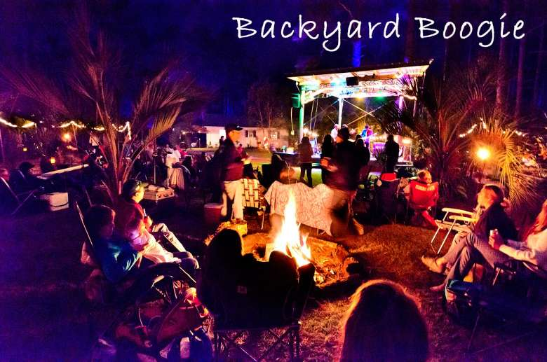 Local Music Lovers Are Crazy For Great Live And Good Times At Williams Backyard Boogie It Has Become A Favorite Gathering Spot Venue Tucked