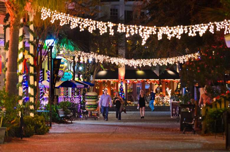 Sandestin Is A Wonderland Of Lights And Festivities In