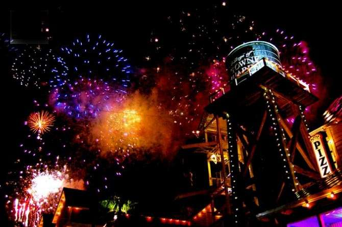 Fireworks Shows on the Fourth of July 2014 in South Walton | SoWal com