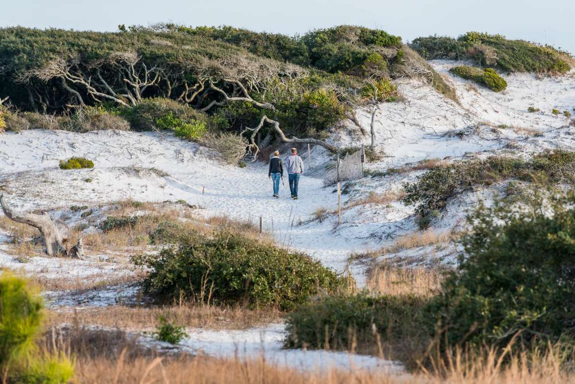 First Day Sunset Hike At Grayton Beach State Park Photos
