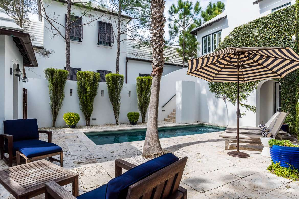 SoWal Style  Exclusive Courtyard Vacation Rental Home in